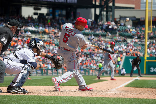 Angels put offensive woes behind them with 11-4 win over Detroit