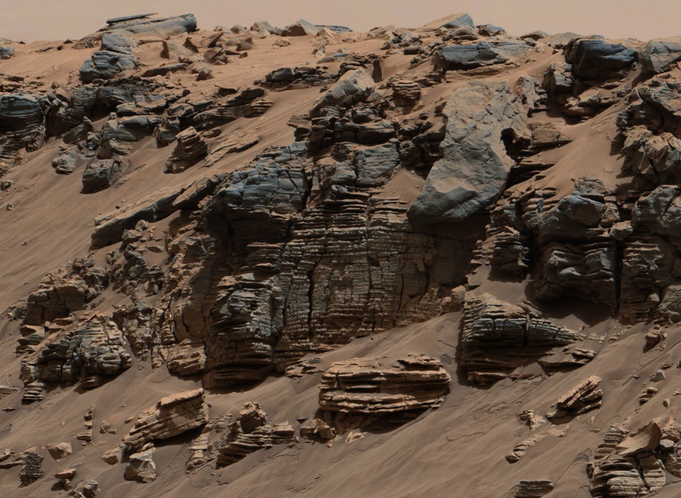 An ancient lake on Mars could have supported a variety of microbial life