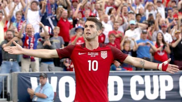 Christian Pulisic comes through for the U.S. in 2-0 victory over Trinidad and Tobago