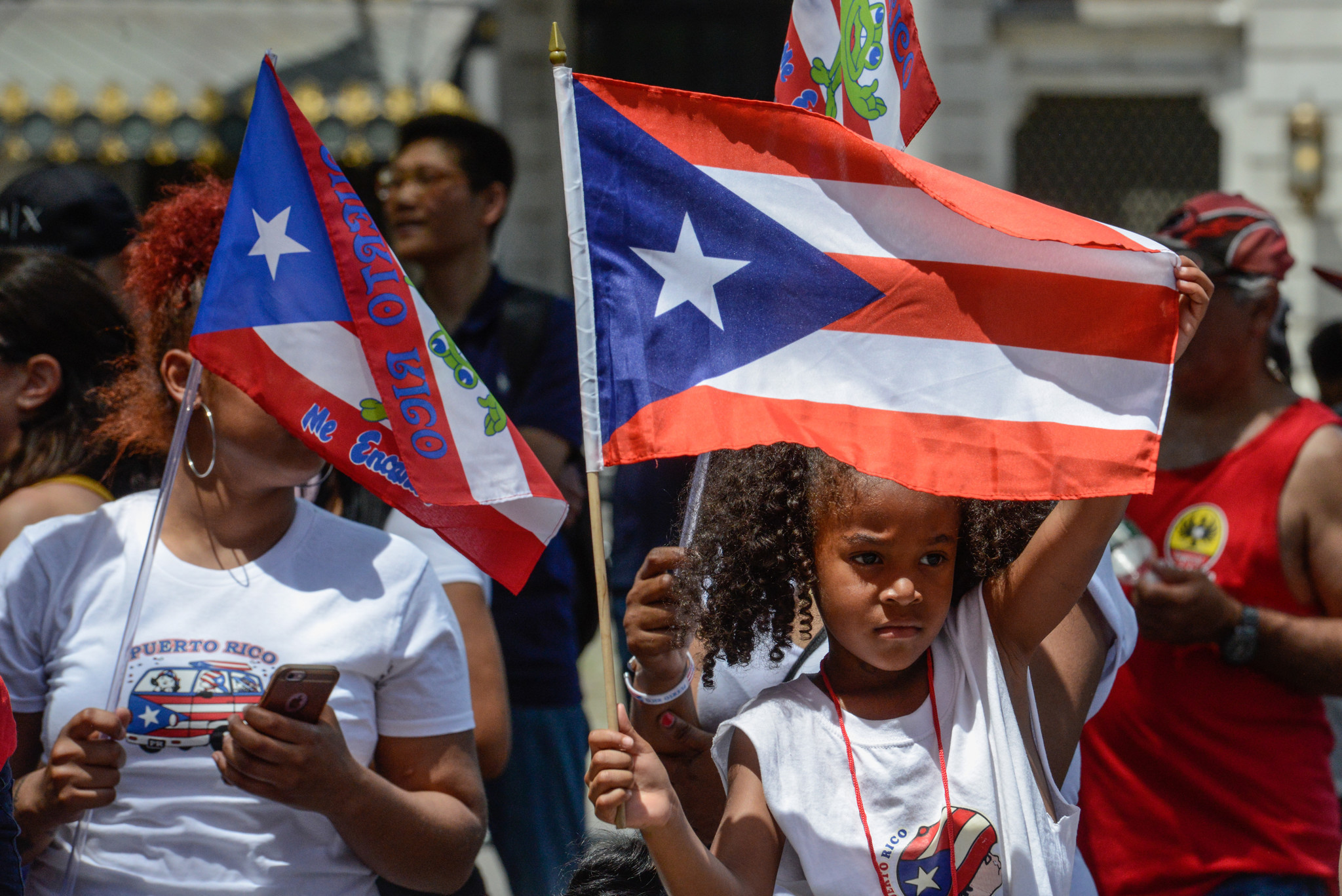 Puerto rican day parade 2017 la times for Puerto rican