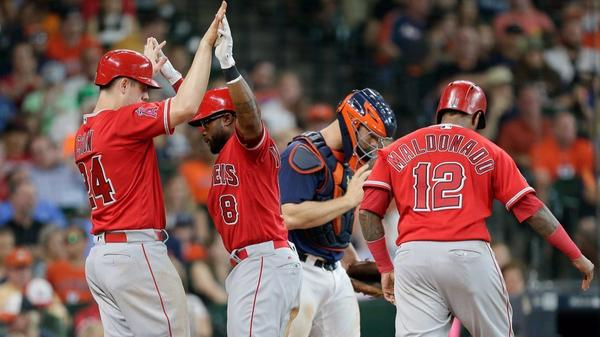 Angels become first American League West team to beat Astros in a series this season