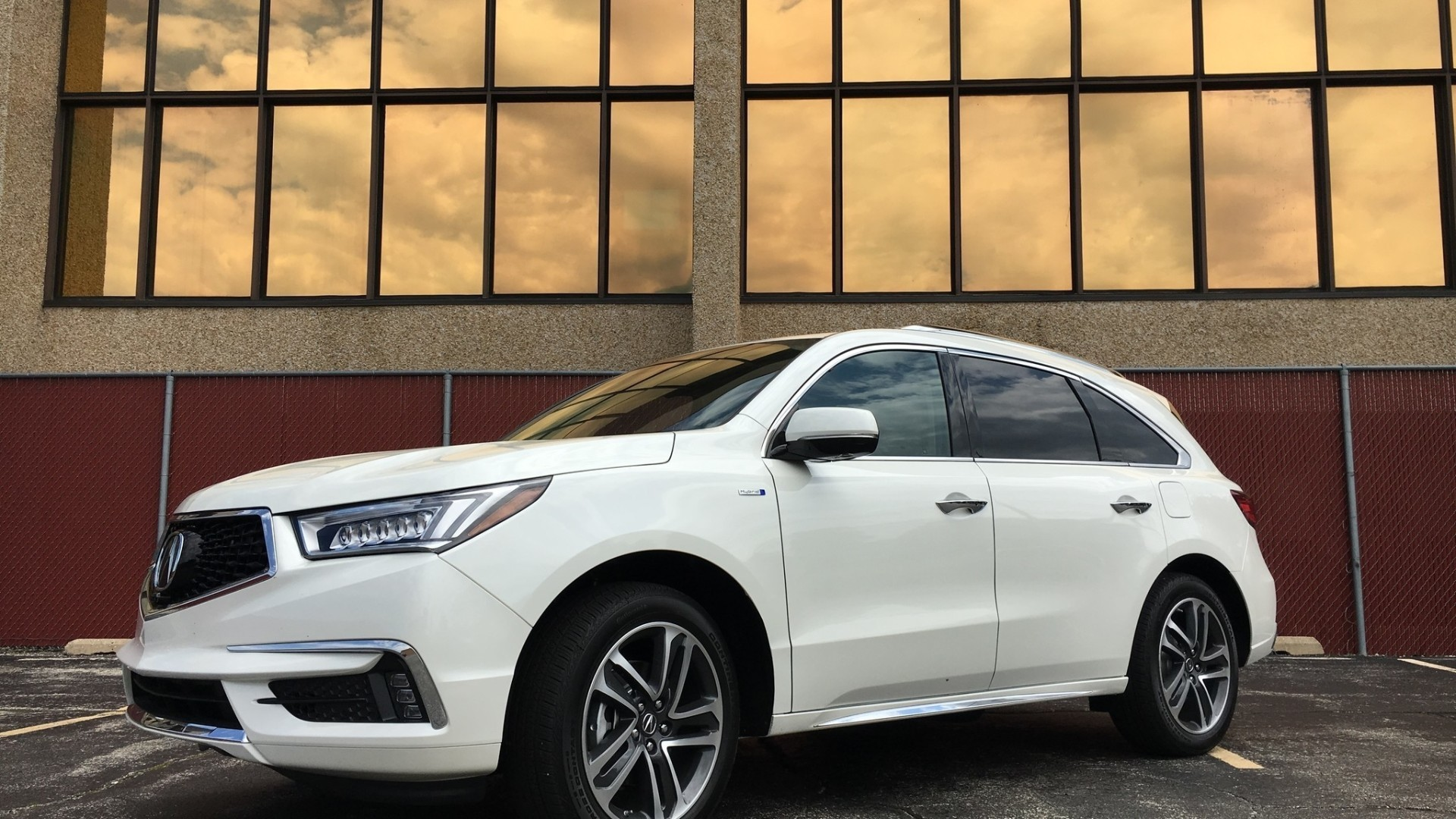 2017 acura mdx sport hybrid awd with advance package chicago tribune. Black Bedroom Furniture Sets. Home Design Ideas