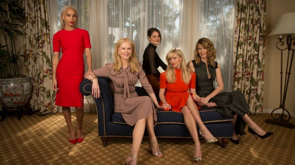 "The women of HBO's ""Big Little Lies."" (Allen J. Schaben / Los Angeles Times)"