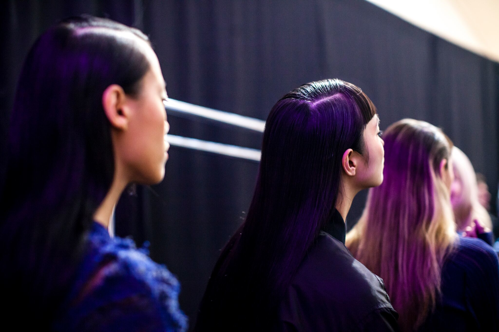 It's all about sleek, understated hairstyles for Opening Ceremony's show during Made LA on Friday.