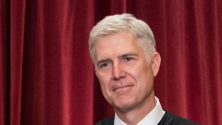 Supreme Court Associate Justice Neil Gorsuch (J. Scott Applewhite / Associated Press)