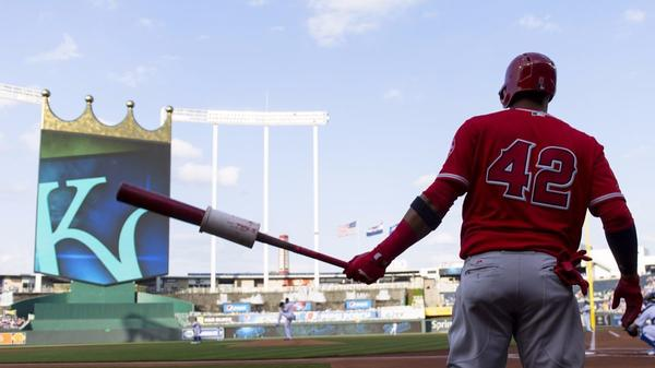 Angels third baseman Yunel Escobar, unafraid to be different, wields the biggest bat in the majors
