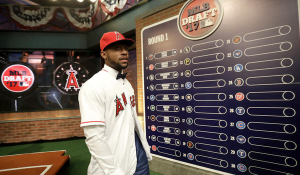 Angels select prep outfielder Jordon Adell in first round of MLB draft