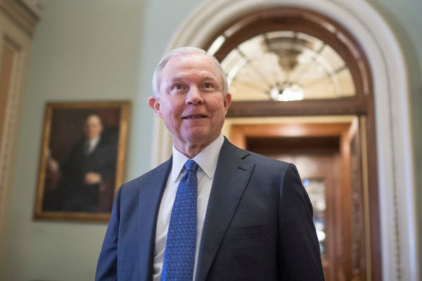 You're making me nervous: Jeff Sessions to Senator Kamala Harris