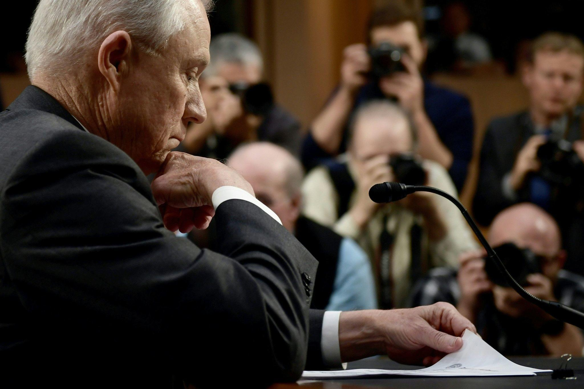 AG Sessions Denies Improper Russia Contacts During Senate Hearing