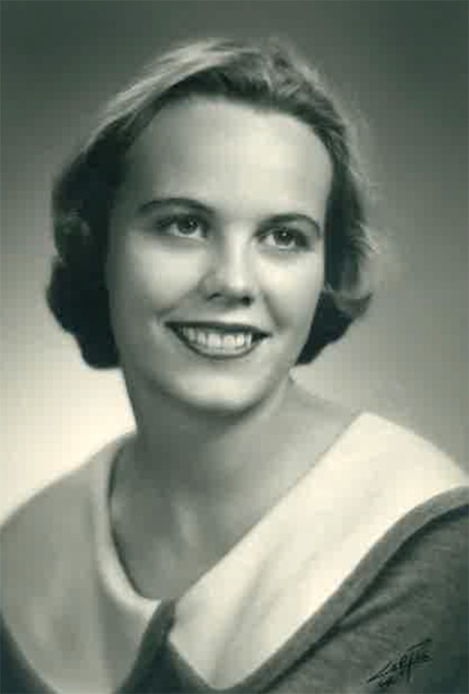 Sue Finley, as photographed in 1957.