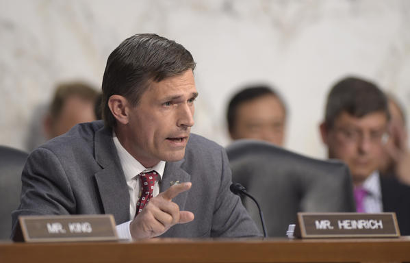 Sen. Martin Heinrich, a New Mexico Democrat. (Susan Walsh / Associated Press)