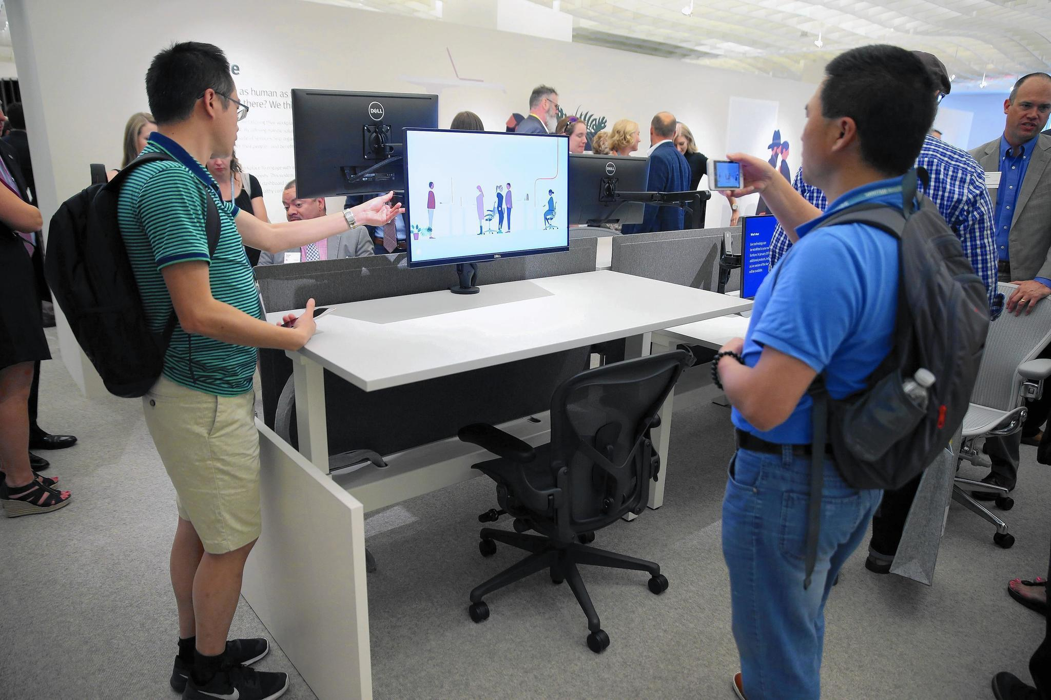 Smart chair and desk to track your backside for employers