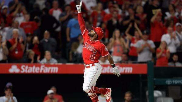 Eric Young Jr. delivers Angels
