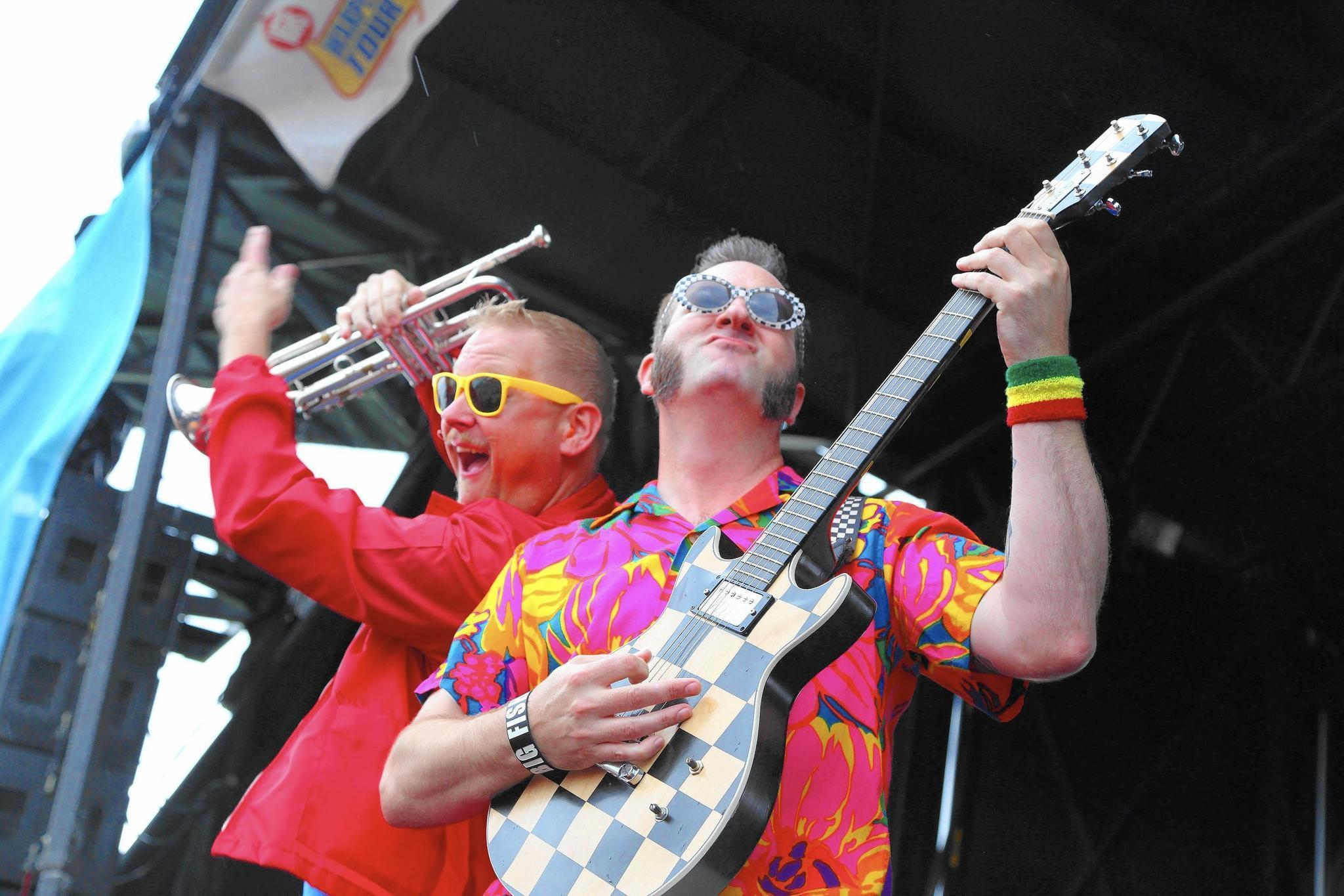 Ska punk 39 s reel big fish at webster theater hartford courant for Reel big fish