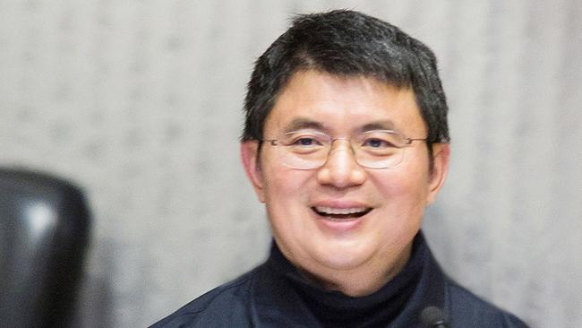 This April 2016 photo provided by the Chinese University of Hong Kong shows Chinese billionaire Xiao