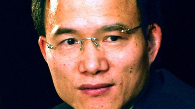 This March 2004 photo shows Guo Guangchang, chairman of Fosun International Ltd.