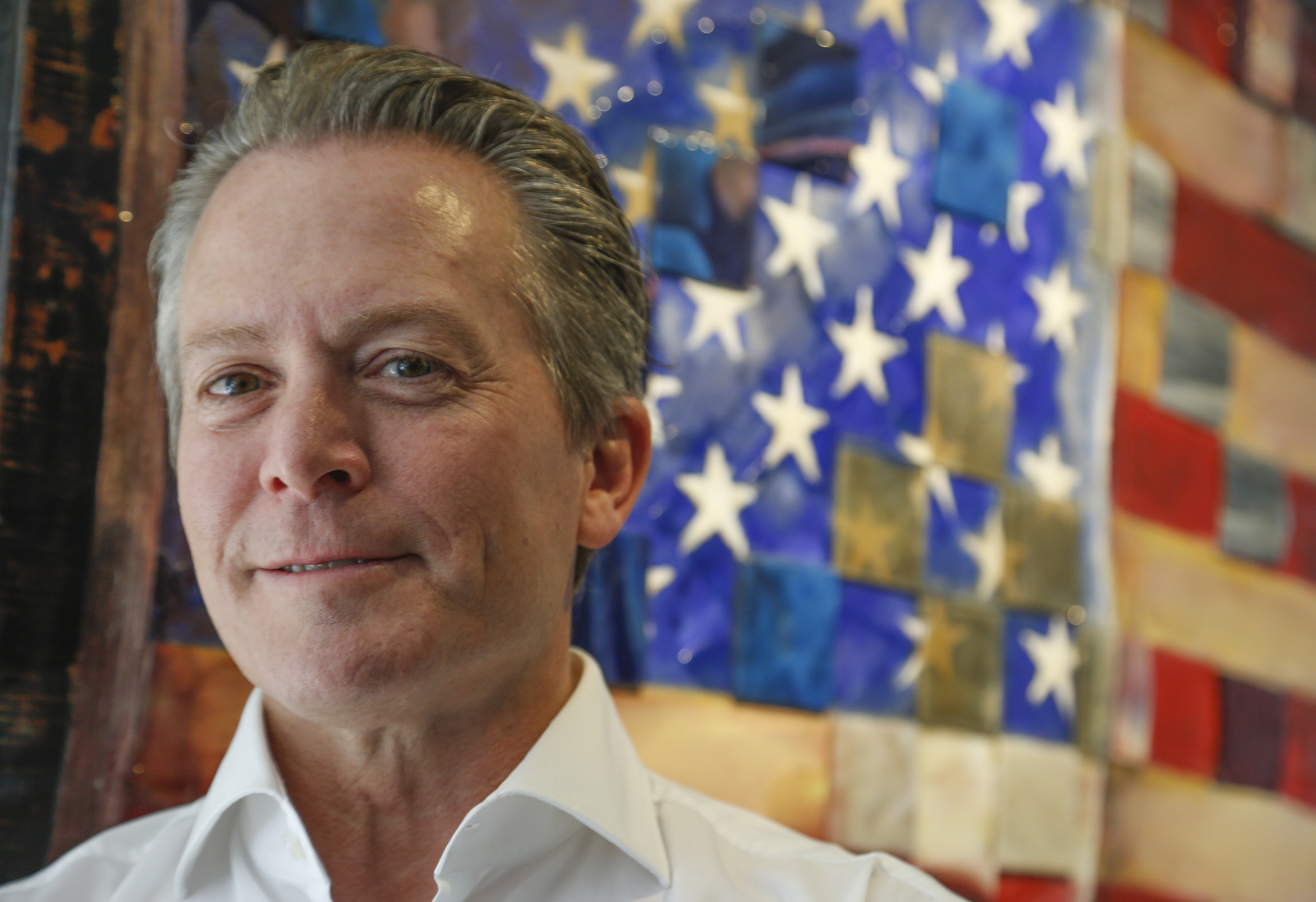 Former UC Irvine professor and stem cell scientist Hans Keirstead is announcing his candidacy for the 48th Congressional District. (Mark Boster / Los Angeles Times)