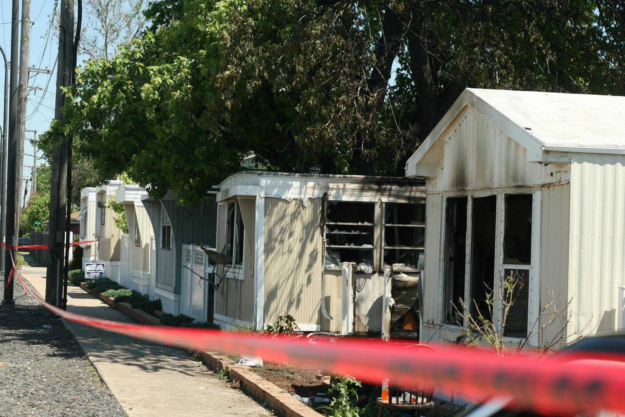 Oak Lawn Mobile Home Park Fearful After Fatal Fire