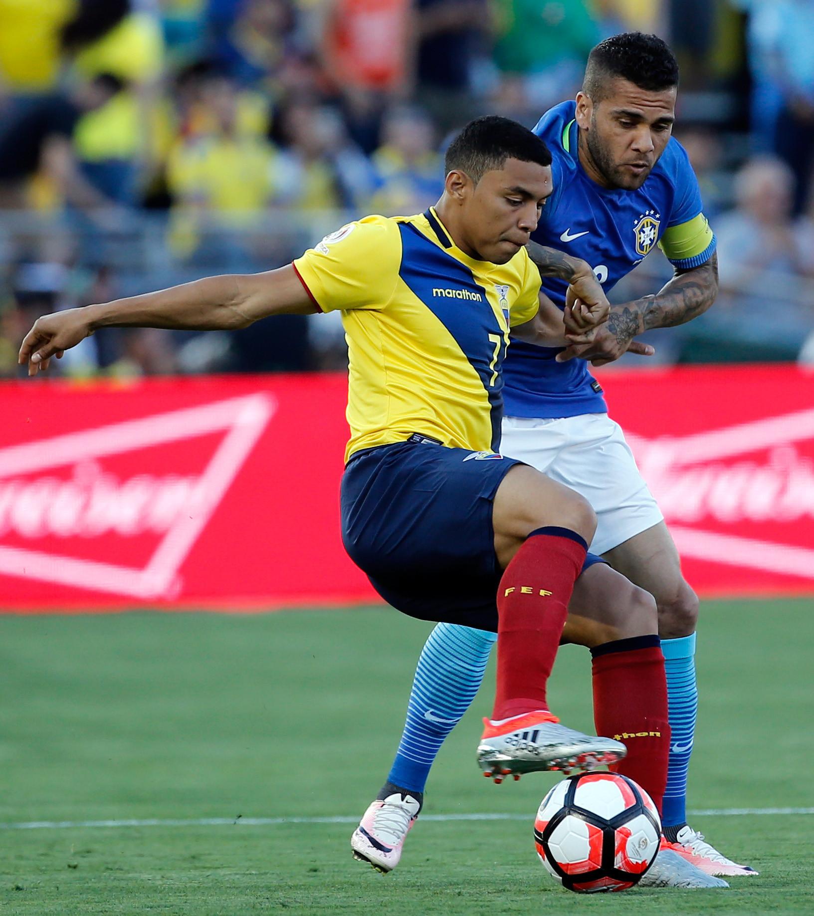 los mejores momentos brasil vs ecuador en copa