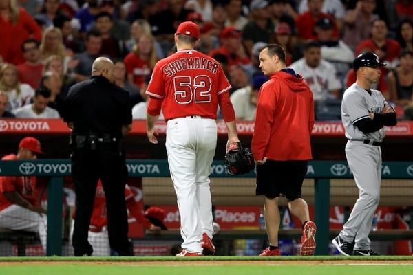 Angels rally to win against Yankees, but there's a cost