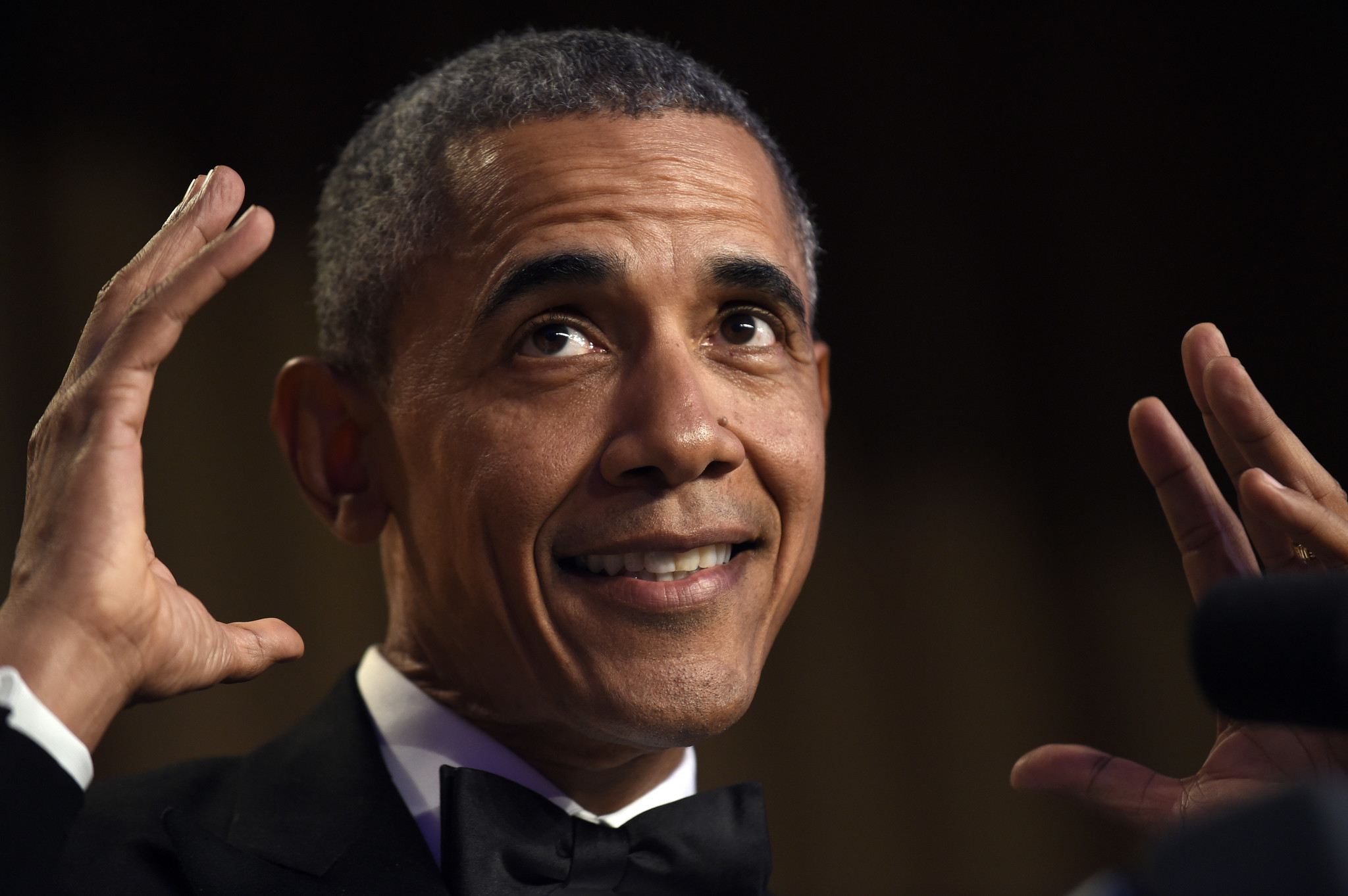 Barack habla en la cena homosexual