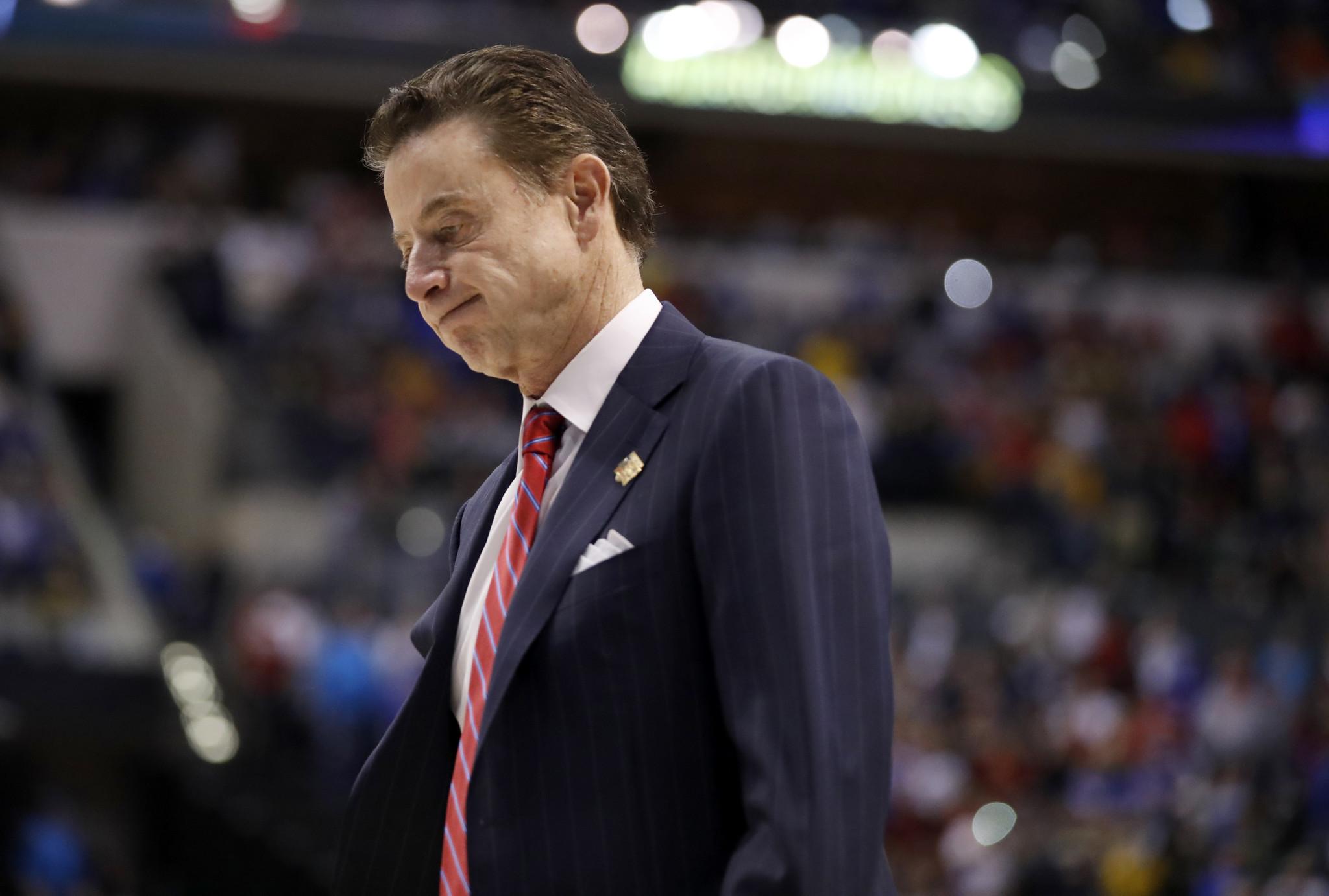 rick pitino louisville cardinals college basketball ncaa scandal