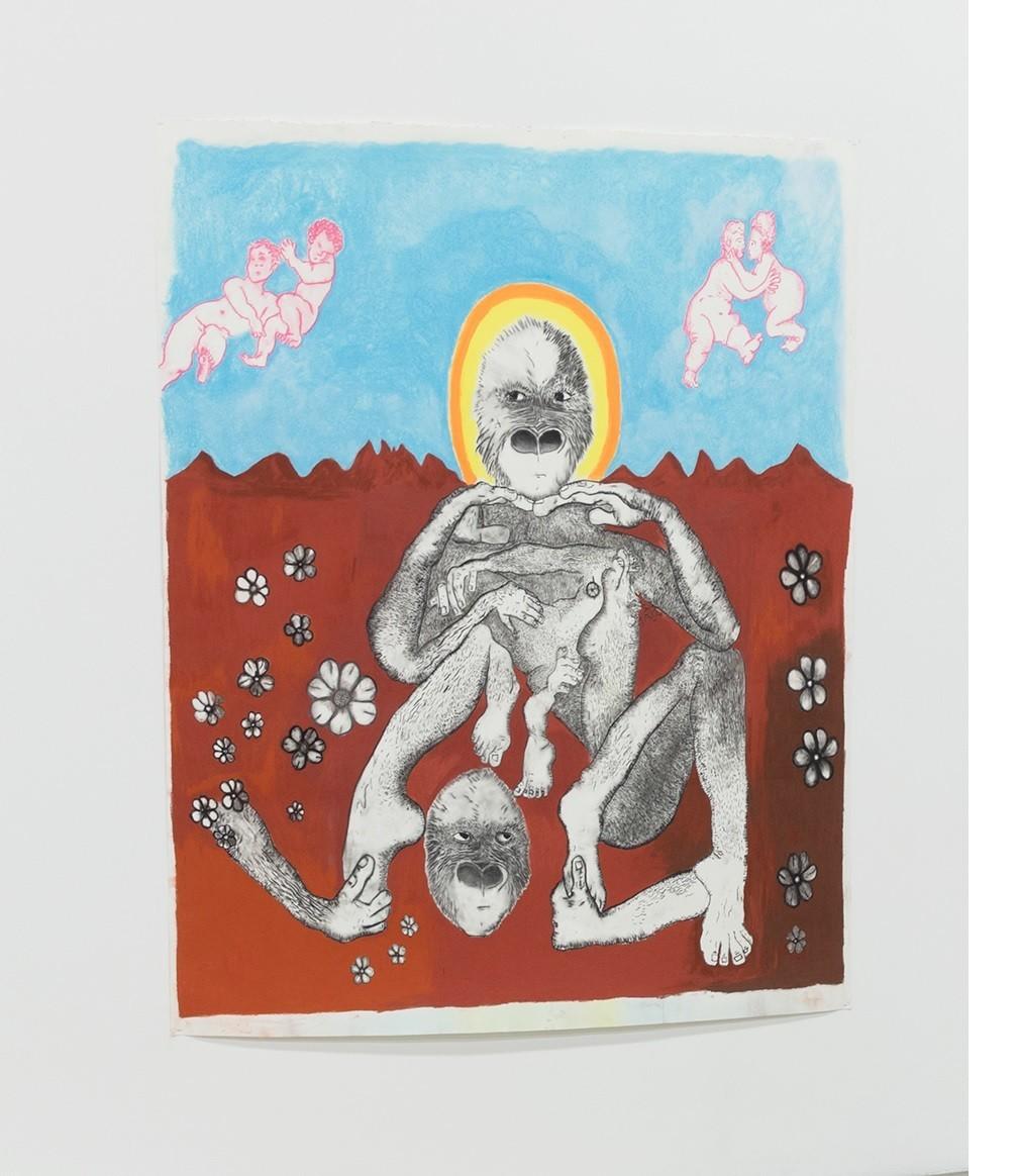 "Benjamin Weissman, ""Saint Nessa,"" 2017."