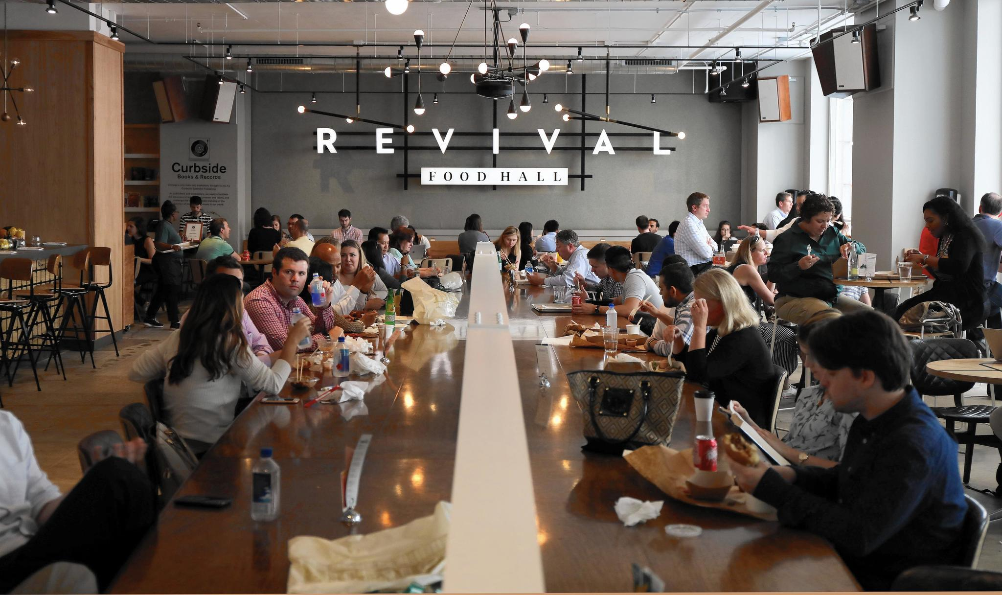 The modern food court: Food halls to grow sharply in Chicago ...