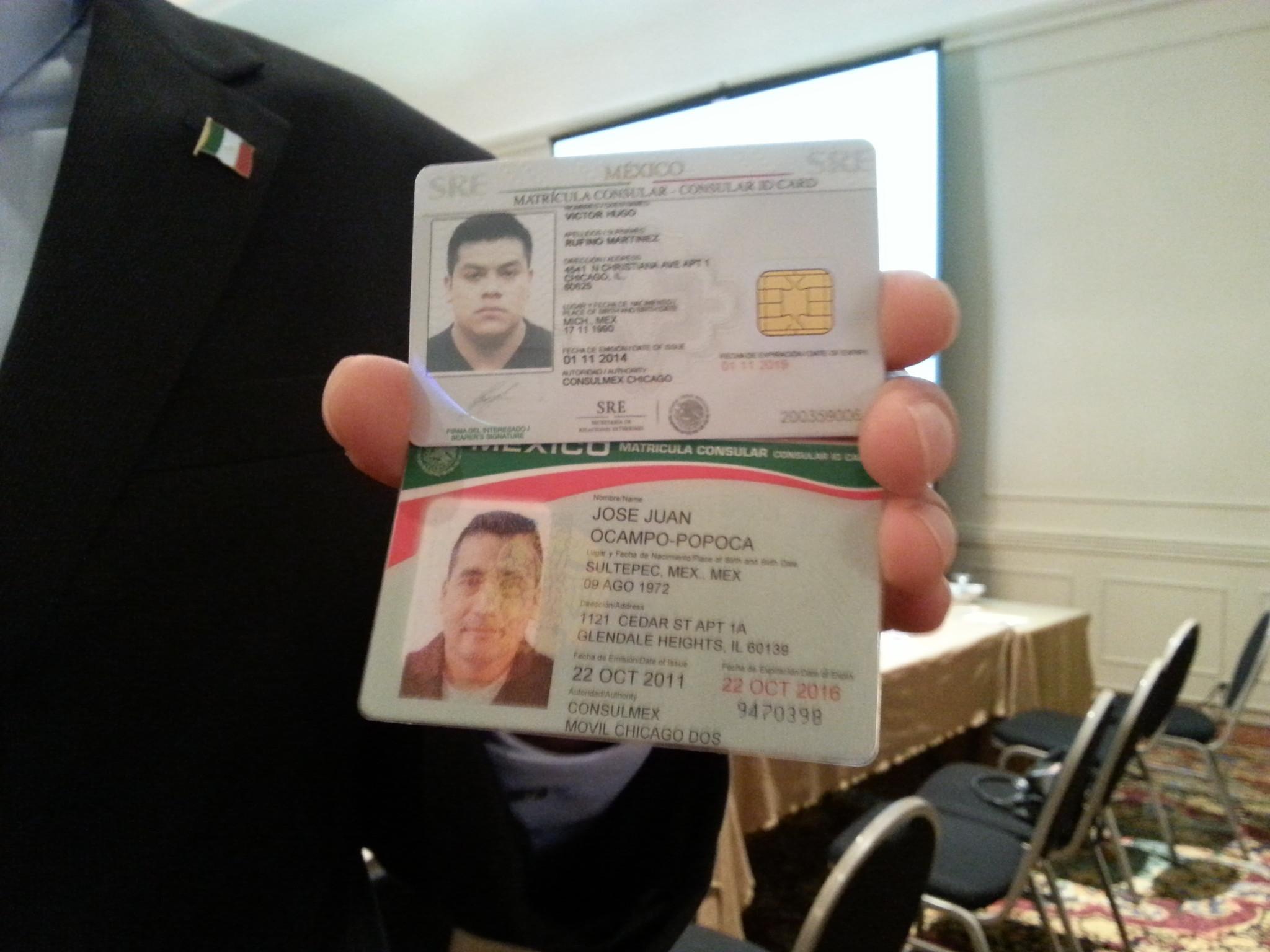 Presentan matr cula consular mexicana mejorada hoy chicago - Matricula coche hoy ...