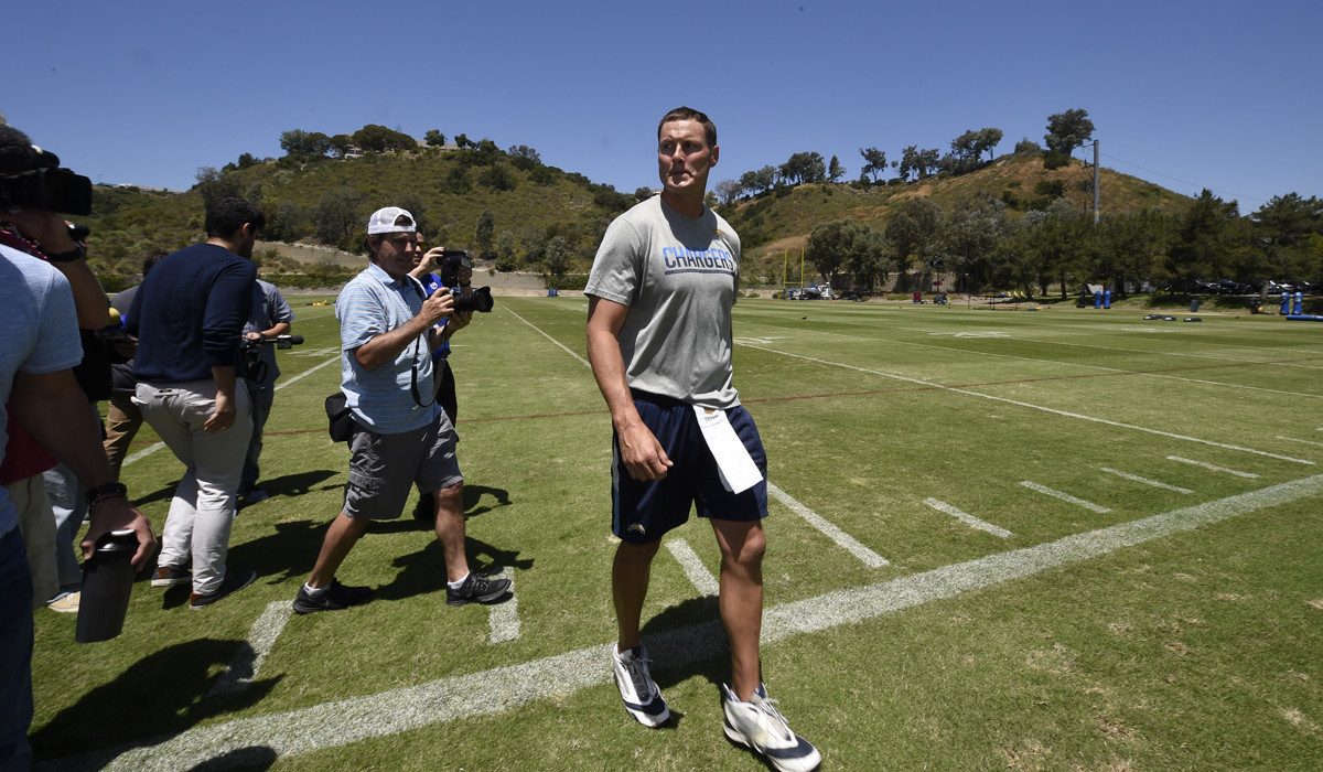 Quarterback Philip Rivers Reflects On Last Day Of Practice