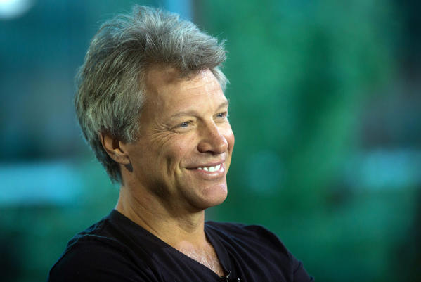 Jon Bon Jovi (Darryl Dyck / Associated Press)