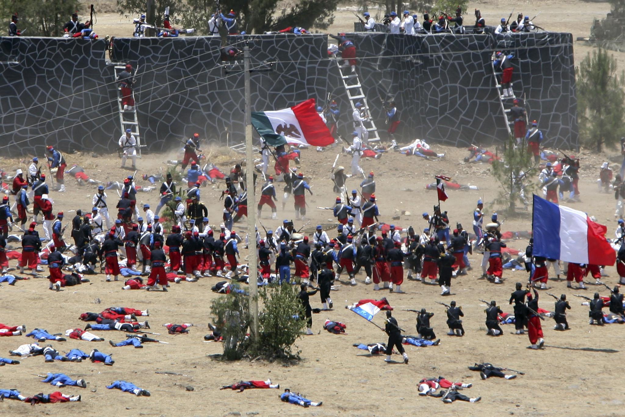 El Cinco de Mayo en el marco de la intervención francesa en México ...