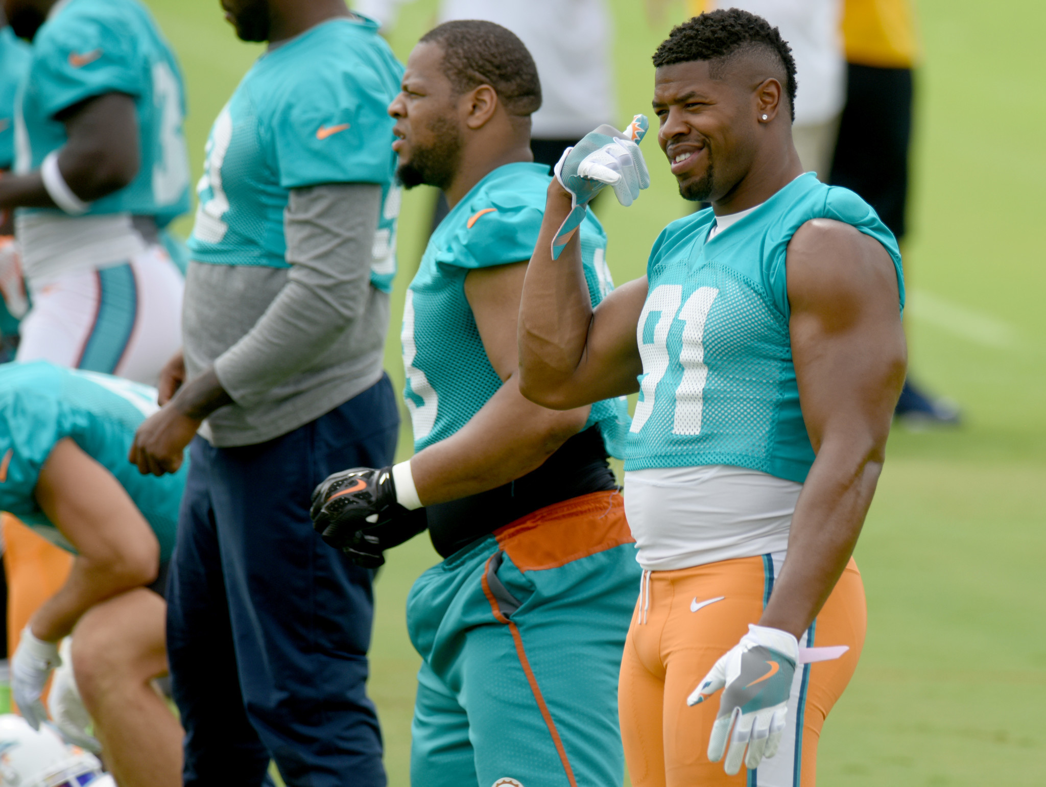 Cameron Wake primed for another disruptive season and is excited
