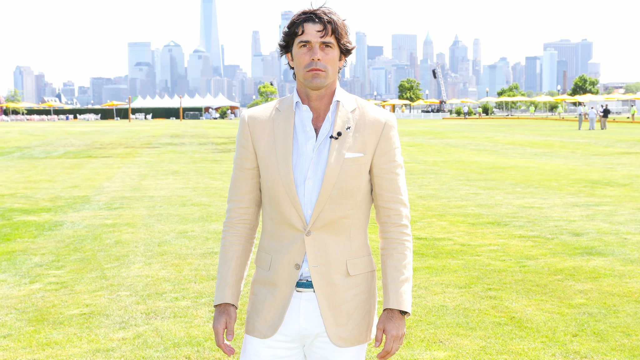 Nacho Figueras attends the Veuve Cliquot Polo Classic in Jersey City, N.J., on June 3, 2017.