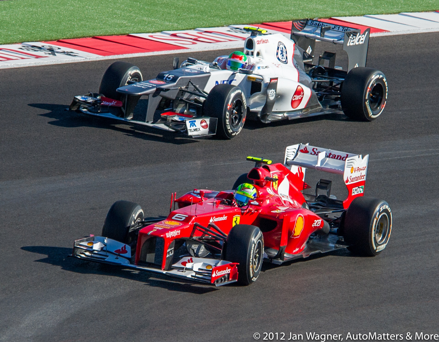 2012 Formula 1 United States Grand Prix in Austin, Texas.