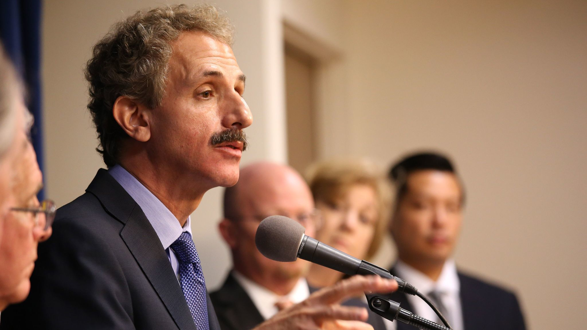 Los Angeles City Atty. Mike Feuer is among several prosecutors who signed a letter against Atty. Gen. Jeff Sessions' criminal sentencing priorities.
