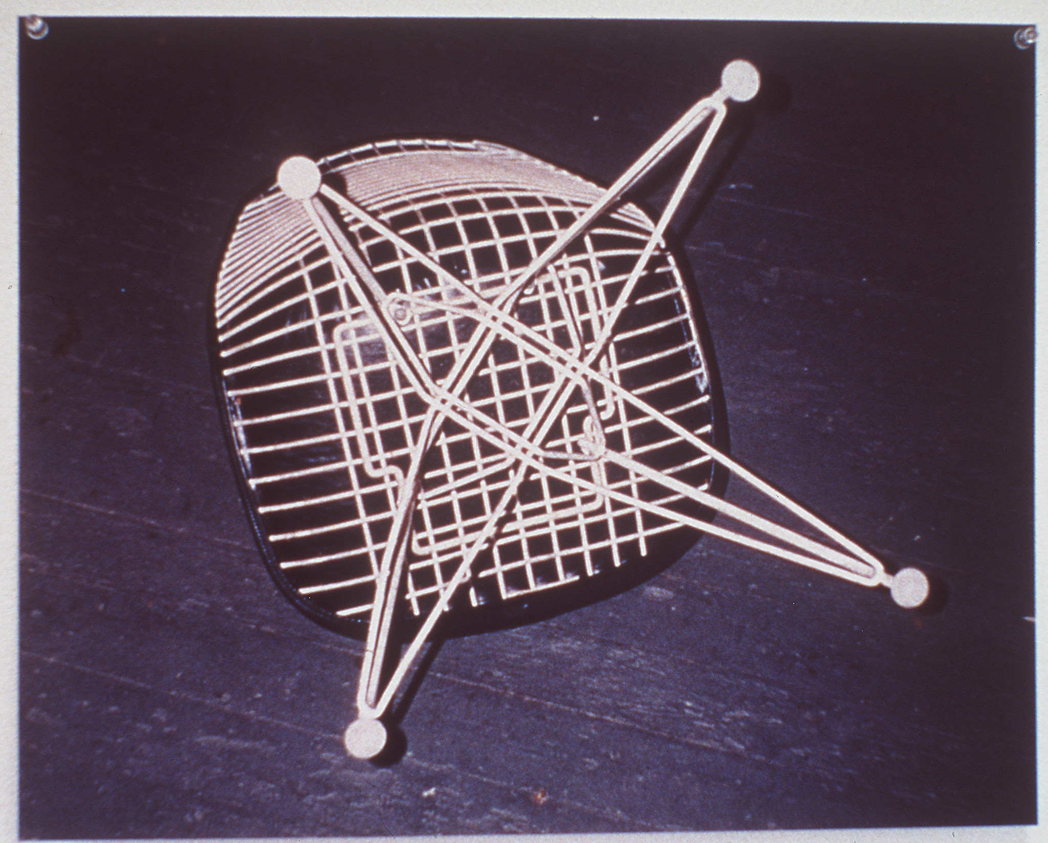 "Sam Durant's ""Chair #1"" (1995). C–print."