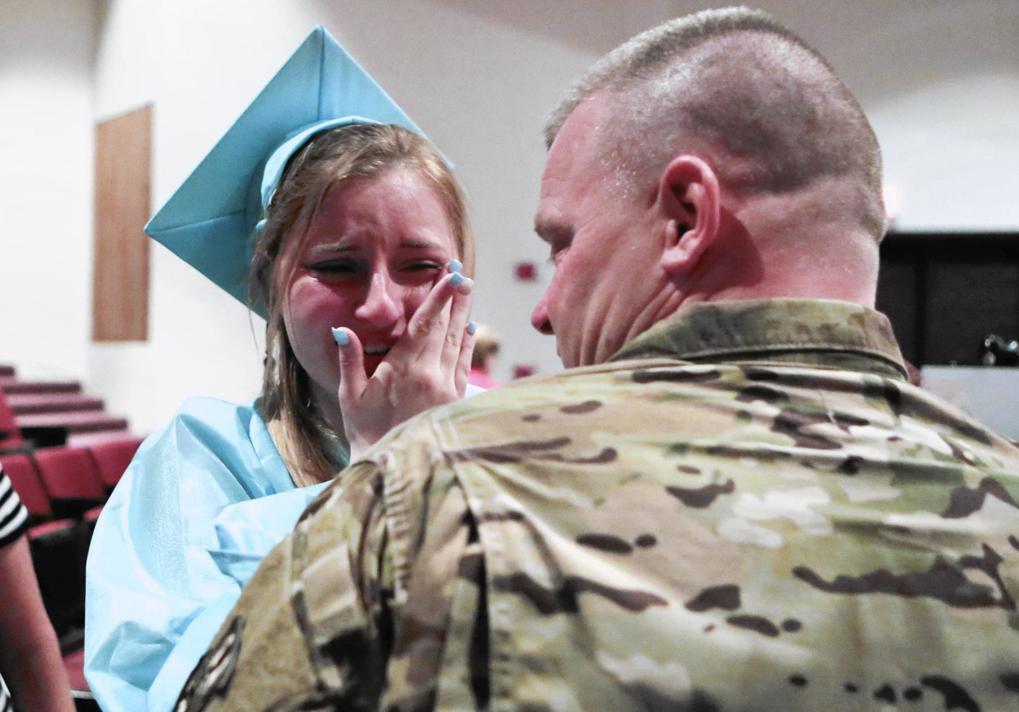 At Sports And Medical Sciences Academy's Commencement, A Military Reunion And Principal's Farewell