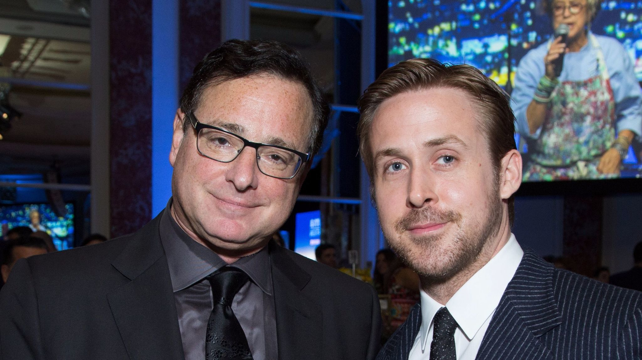 Bob Saget and Ryan Gosling.