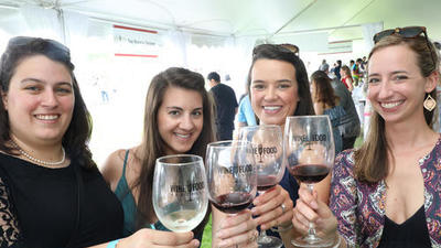 First West Hartford Wine & Food Festival Draws Enthusiastic Crowds