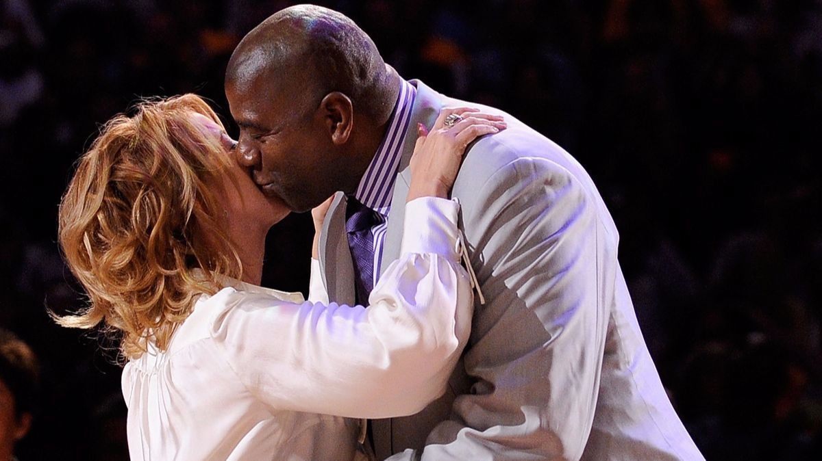 Jeanie Buss and Magic Johnson forged a close friendship over four