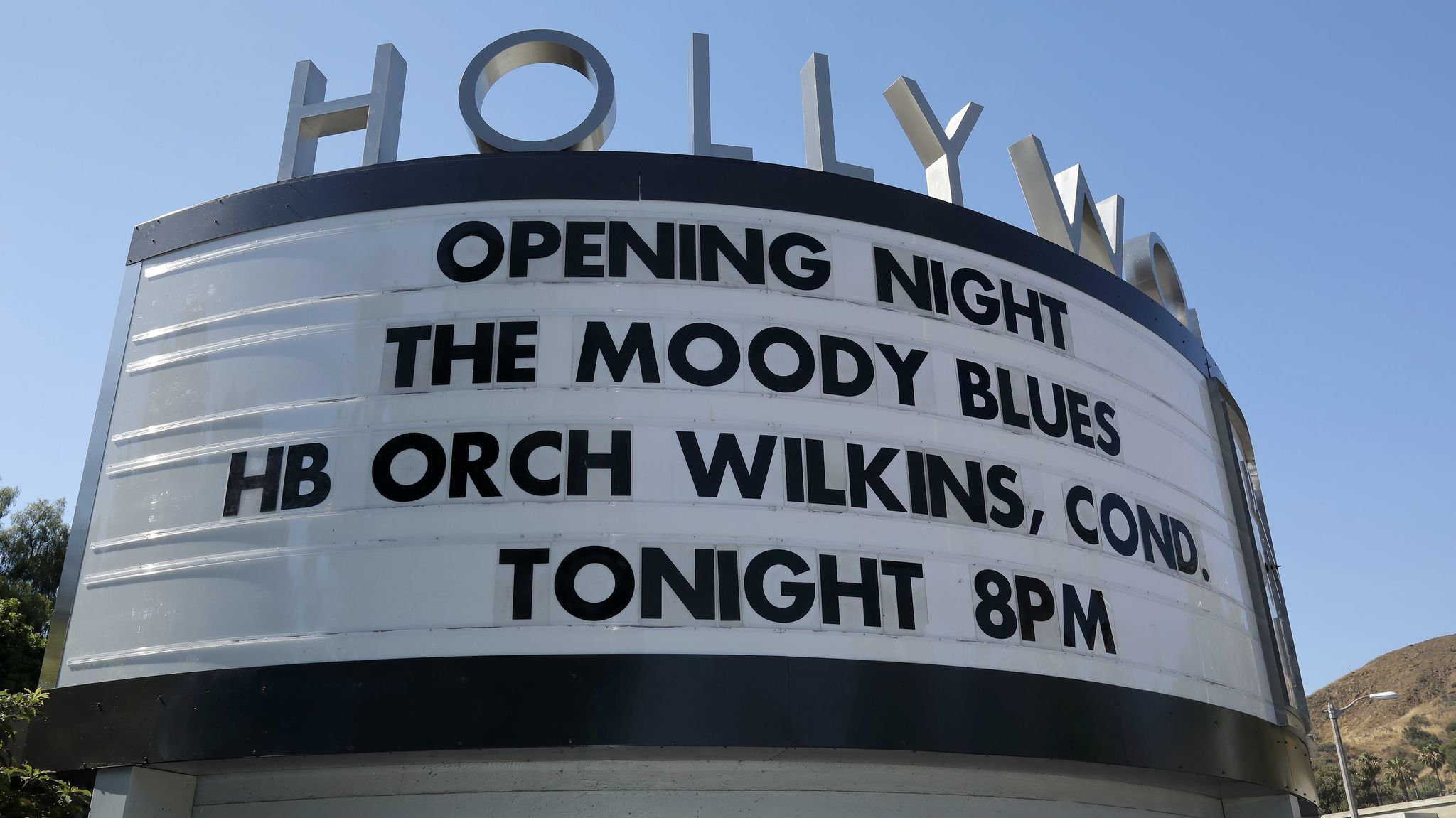 It's that time again. It's the opening night for the new Hollywood Bowl season.