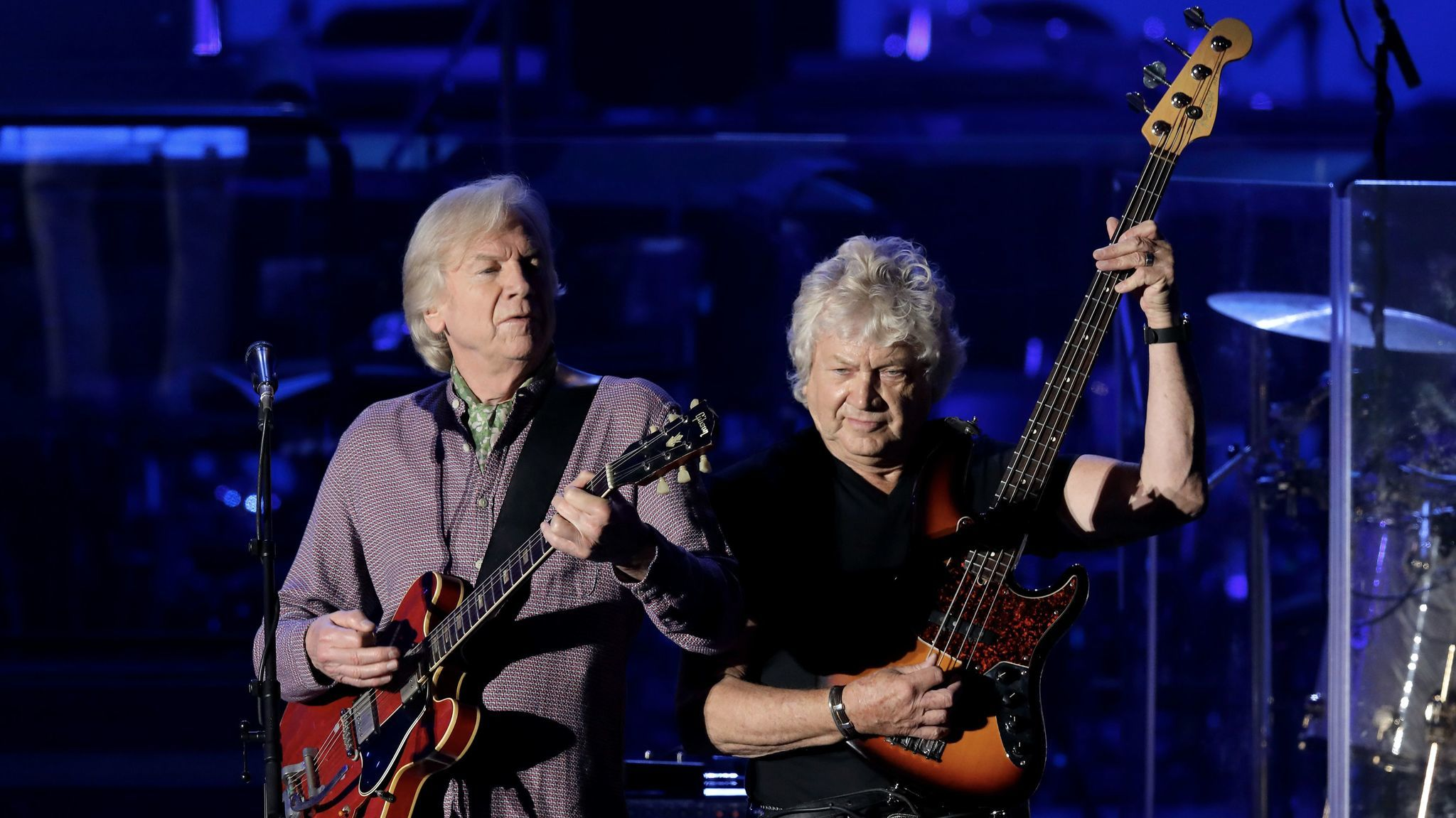 Justin Hayward and John Lodge of the Moody Blues.