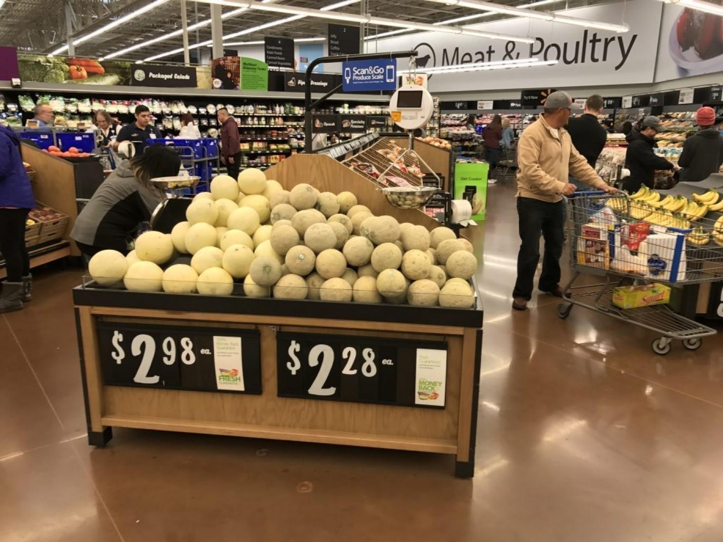 Walmart\'s answer to Aldi and Amazon: \'designer\' cantaloupe - Chicago ...