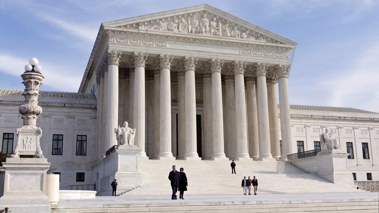 The Supreme Court building (J. Scott Applewhite / Associated Press)