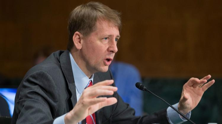 Richard Cordray, director of the Consumer Financial Protection Bureau. (Michael Reynolds / EPA)