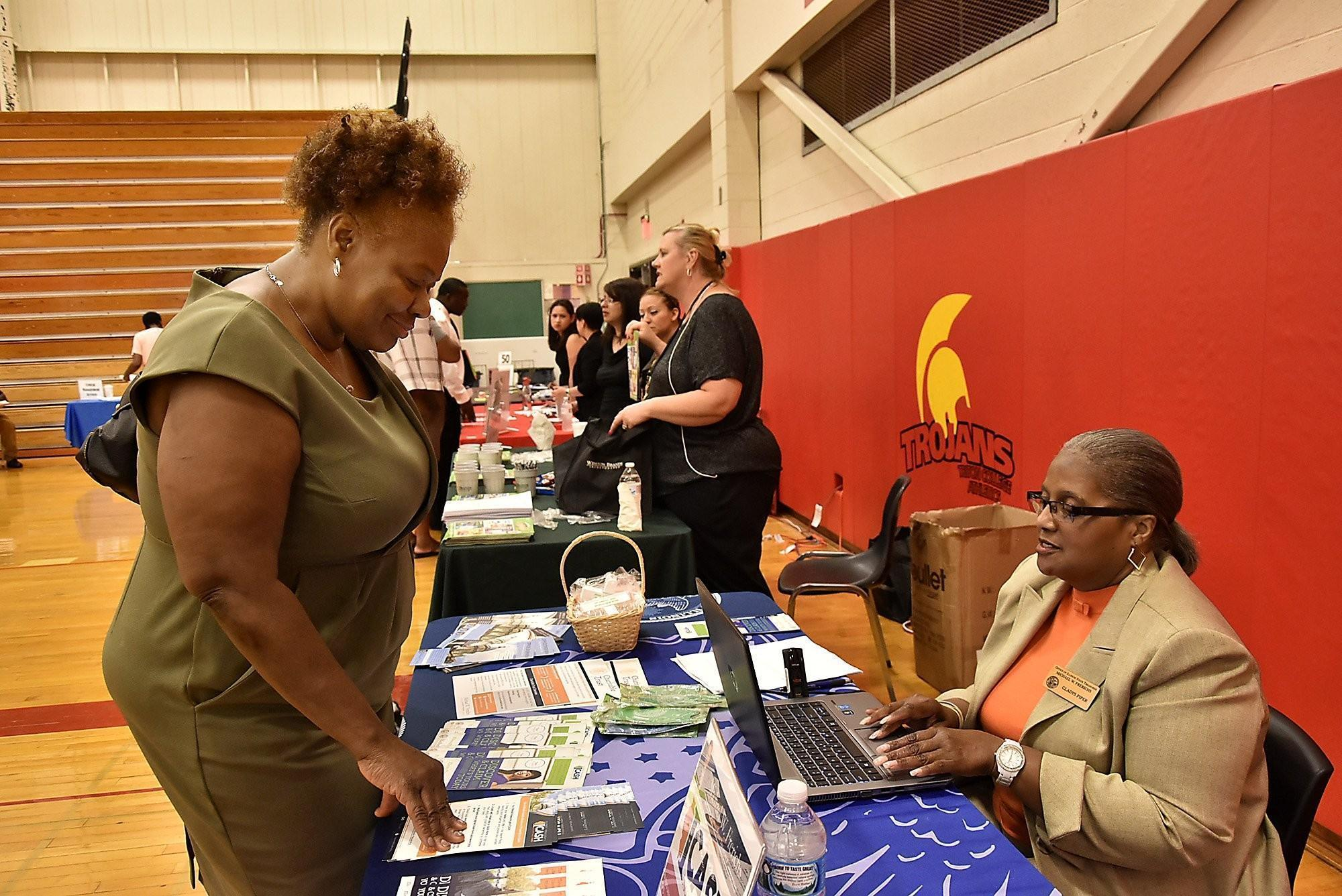 Embracing a 'second chance' at Triton job fair