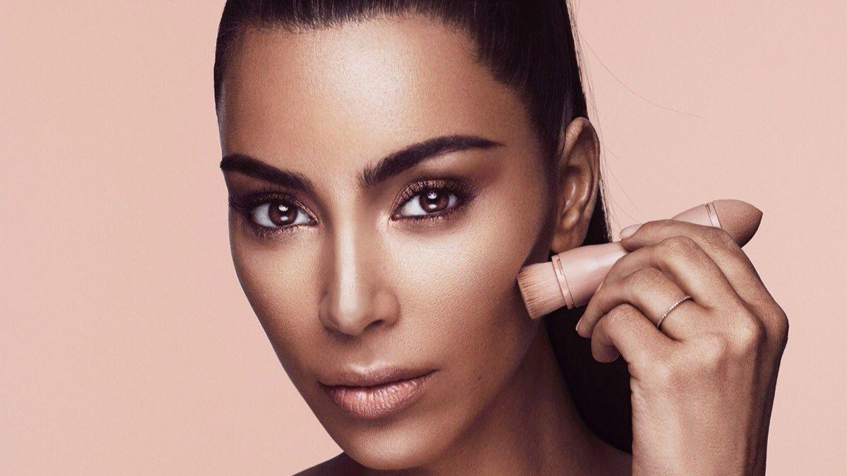 Kim Kardashian's new... Kim Kardashian Makeup Line