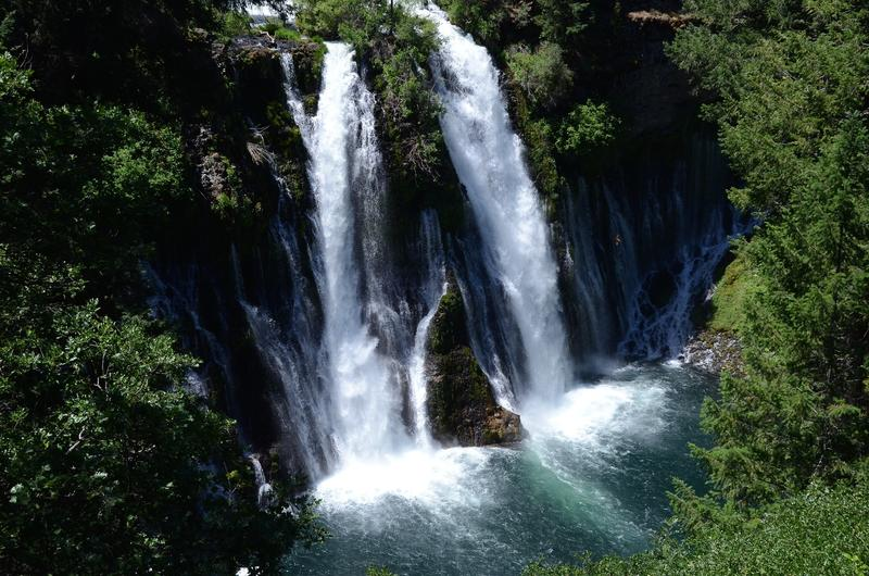 Burney Falls from above. (Christopher Reynolds / Los Angeles Times)