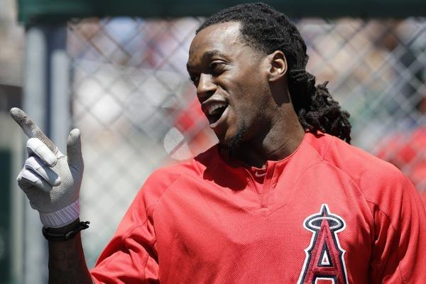 Newcomer Cameron Maybin is turning into a star for the Angels